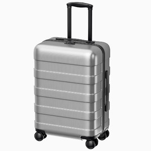 suitcase trolley case 3D model