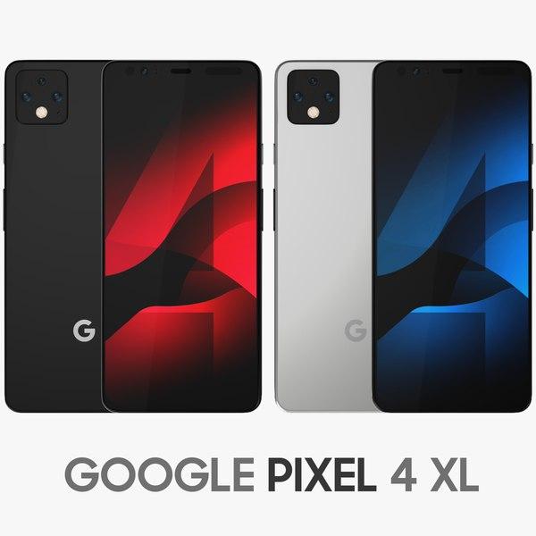 3D google pixel 4