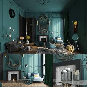 3D paris luxury