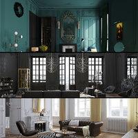 3D luxury house