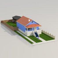 3D gumball house