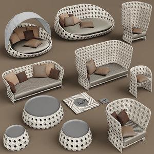 canasta furniture b 3D