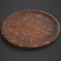 medieval tavern plate 3D model