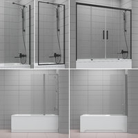 3D shutters baths radaway ravak model