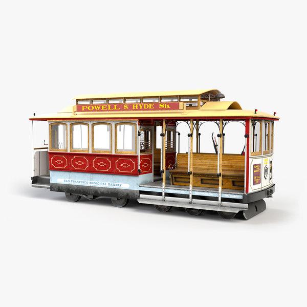 san francisco cable car model