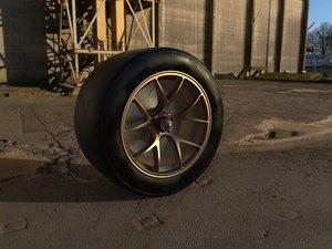3D model gt wheel rim