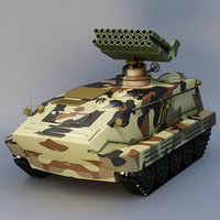 3D tank rocket