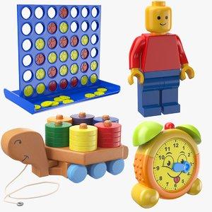 toys modeled 3D model