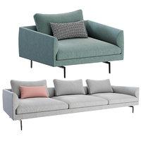 flamingo sofa arm chair model