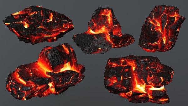 3D rock 4 model