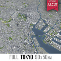 Tokyo - city and surroundings