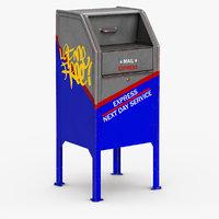 mailbox mail box 3D