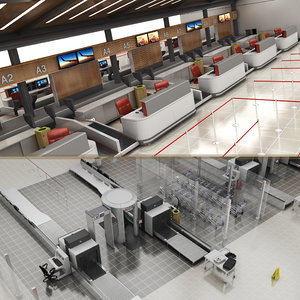 3D check-in security