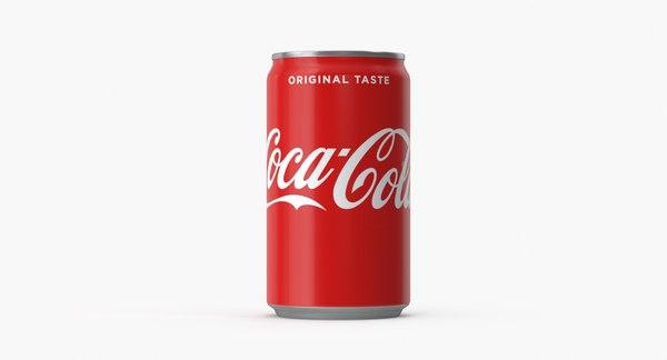 3D coca cola 7 model