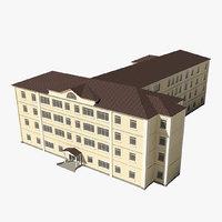 city building 3D