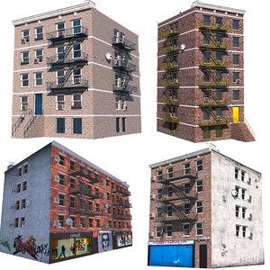 nyc buildings 1 3D model