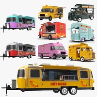 Large Food Trucks Collection