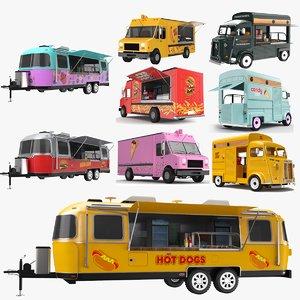 food trucks model