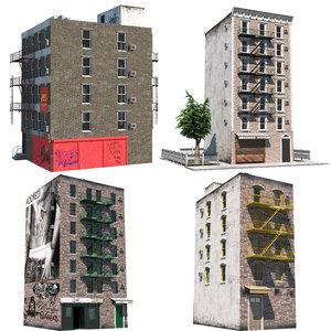 3D nyc buildings