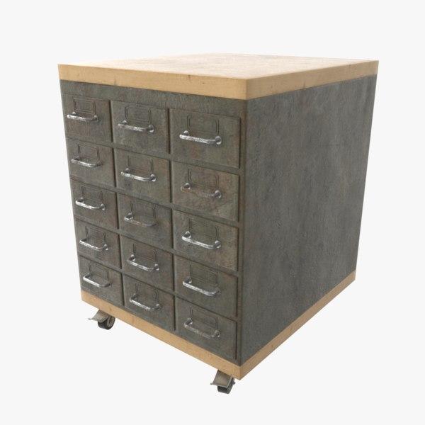 3D model locker