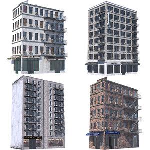 nyc buildings 3D
