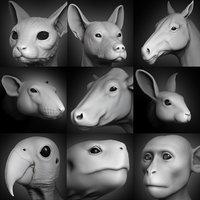 Animal Head Collection vol.1