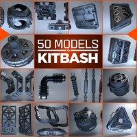 3D model hard 50 modeled
