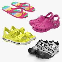 3D model sandals 2