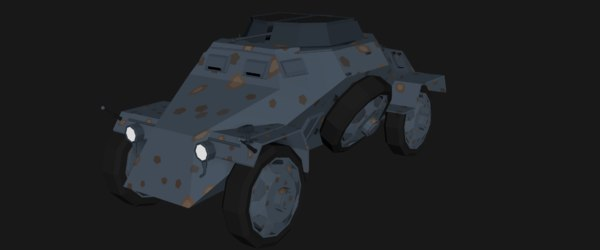sd kfz 221 model