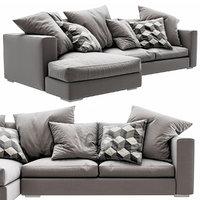sofa boconcept cenova 3D