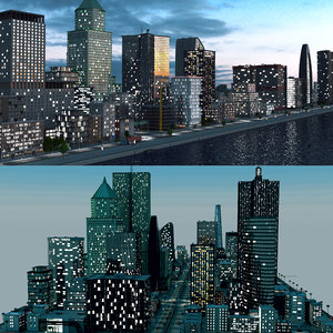 city night 3D