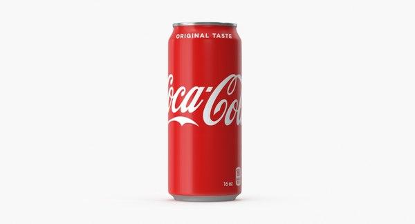 coca-cola original-16 fl oz 3D model