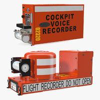 flight recorders 3D model