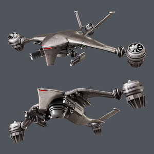 hunter killer-drone model