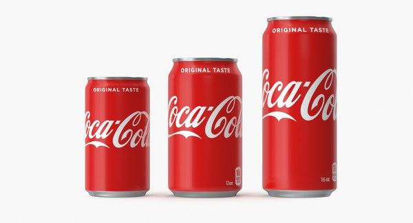 5 beverage 3D model