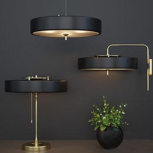 3D dantone home lamp model