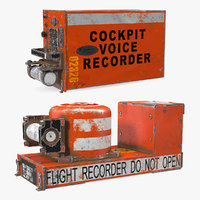 3D crashed flight recorders