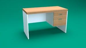 desk realistic pbr 3D model