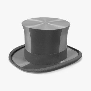 hight hat 3D model