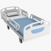 real medical bed 3D model