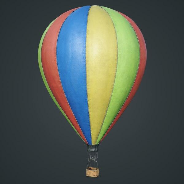 3D model 4k air ballon