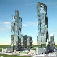cityscape 9 3D