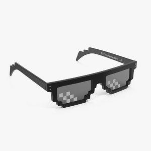 3D swag meme glasses