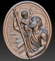 Saint Christopher Pendant