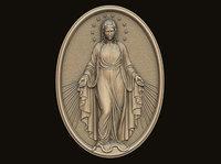 Virgin Mary Pendant