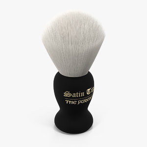 3D shaving brush badger bright