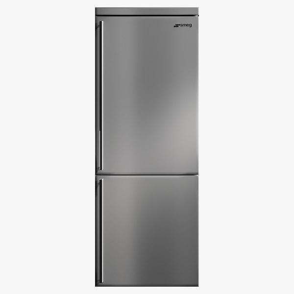 3D realistic fridge classic