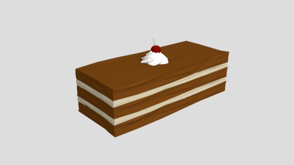 3D piece cake