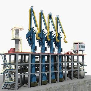 lng loading arm 02 3D