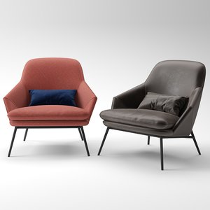 fotelis hug wendelbo 3D